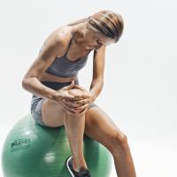 Лезия на вътрешен мениск - консервативна терапия/Medial meniscus injury - conservative therapy approach