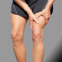 Скъсване на сухожилието на четириглавия бедрен мускул - начална следоперативна програма / Quadriceps tendon rupture - initial program